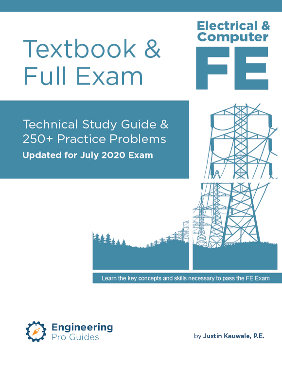 Fe Electrical Textbook Full Exam Learn How To Pass The Fe Exam Learn All The Key Concepts And Skills Tested On The Electrical Fe Exam